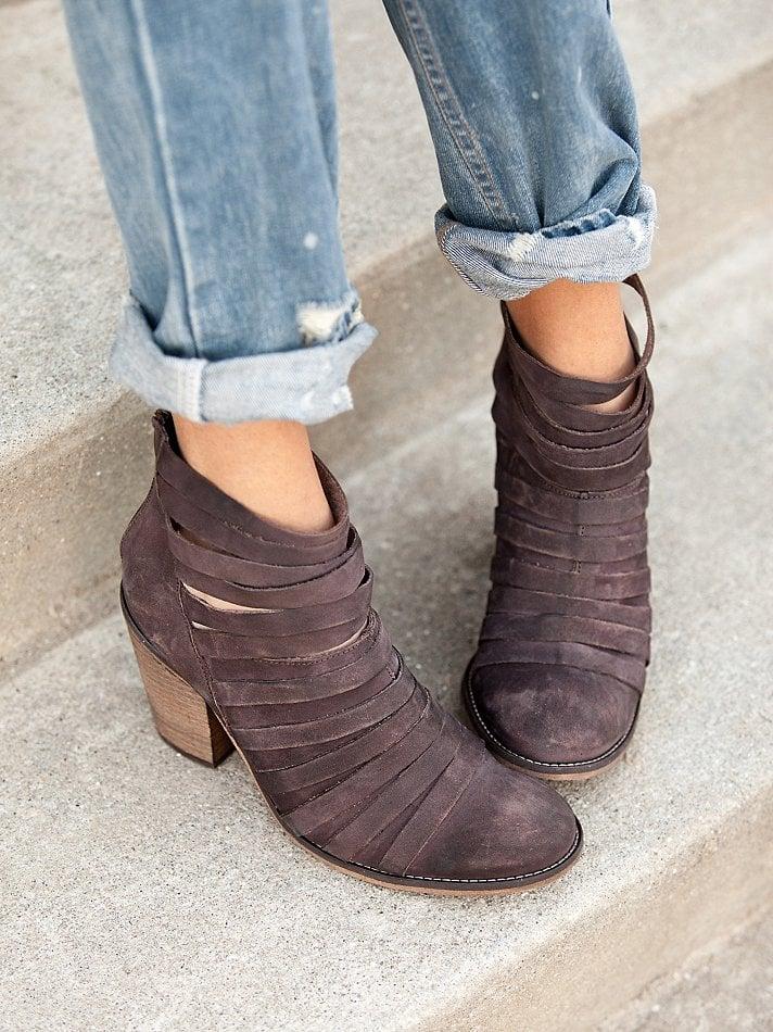 Lyst Free People Hybrid Heel Boot In Brown