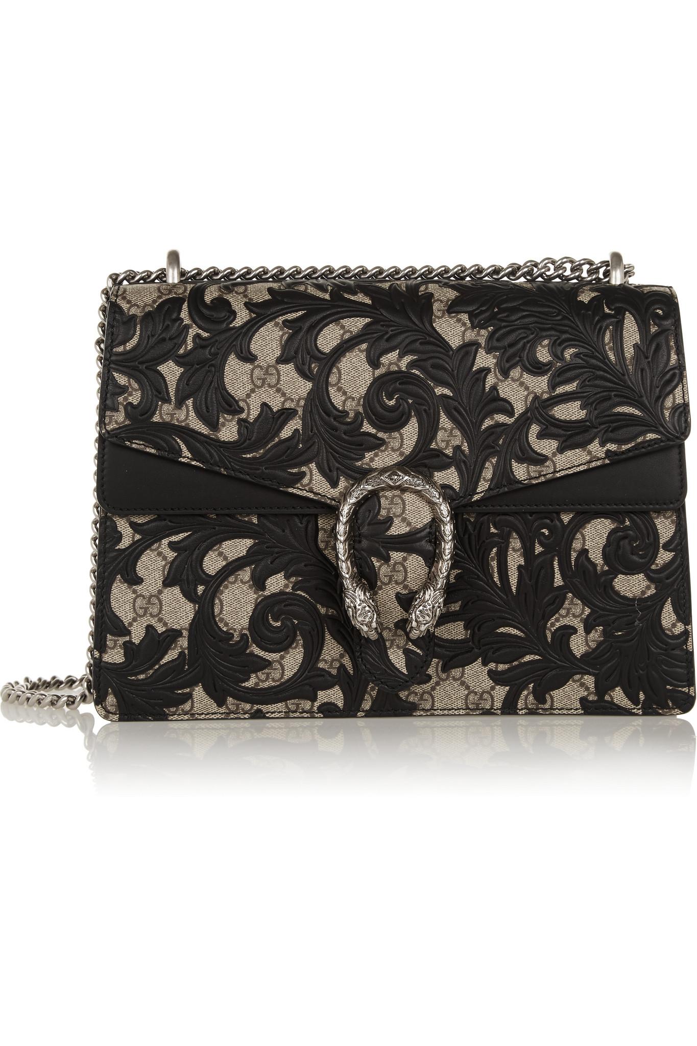 118e4fb19c93 Gucci Dionysus Black Leather Shoulder Bag | Stanford Center for ...