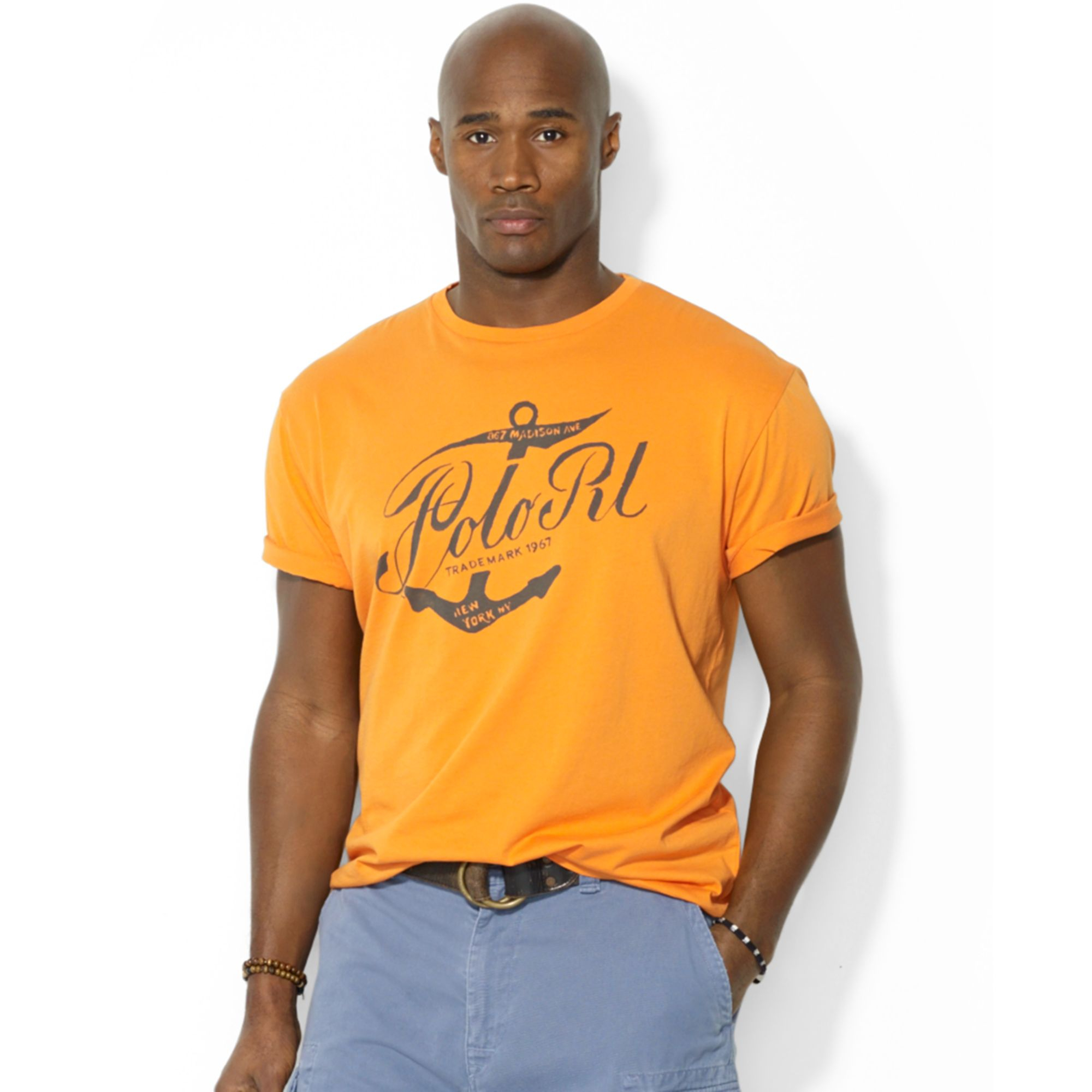 Polo Ralph Lauren Polo Big And Tall Graphic Tshirt In