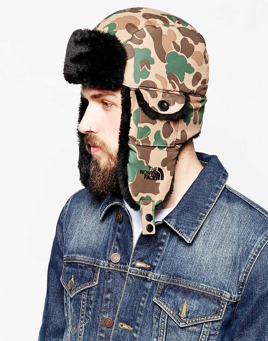 4f6526e60e2efe The North Face Heli Hoser Trapper Hat in Green for Men - Lyst