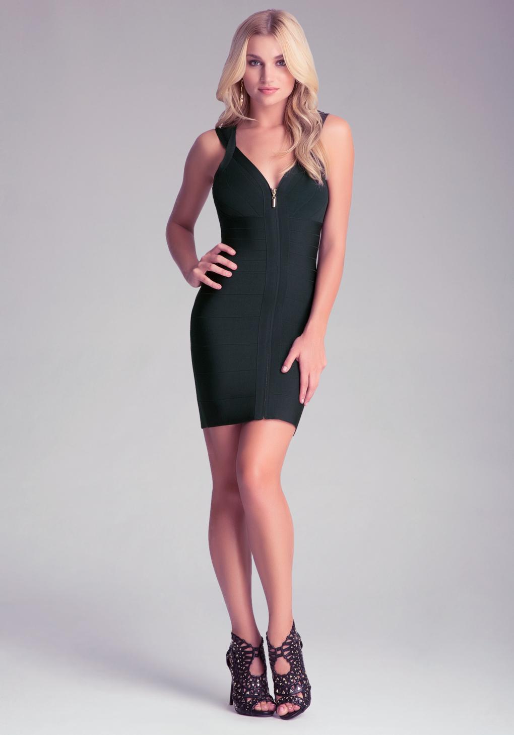 Zipper Bodycon Dress – fashion dresses f6b5b082c