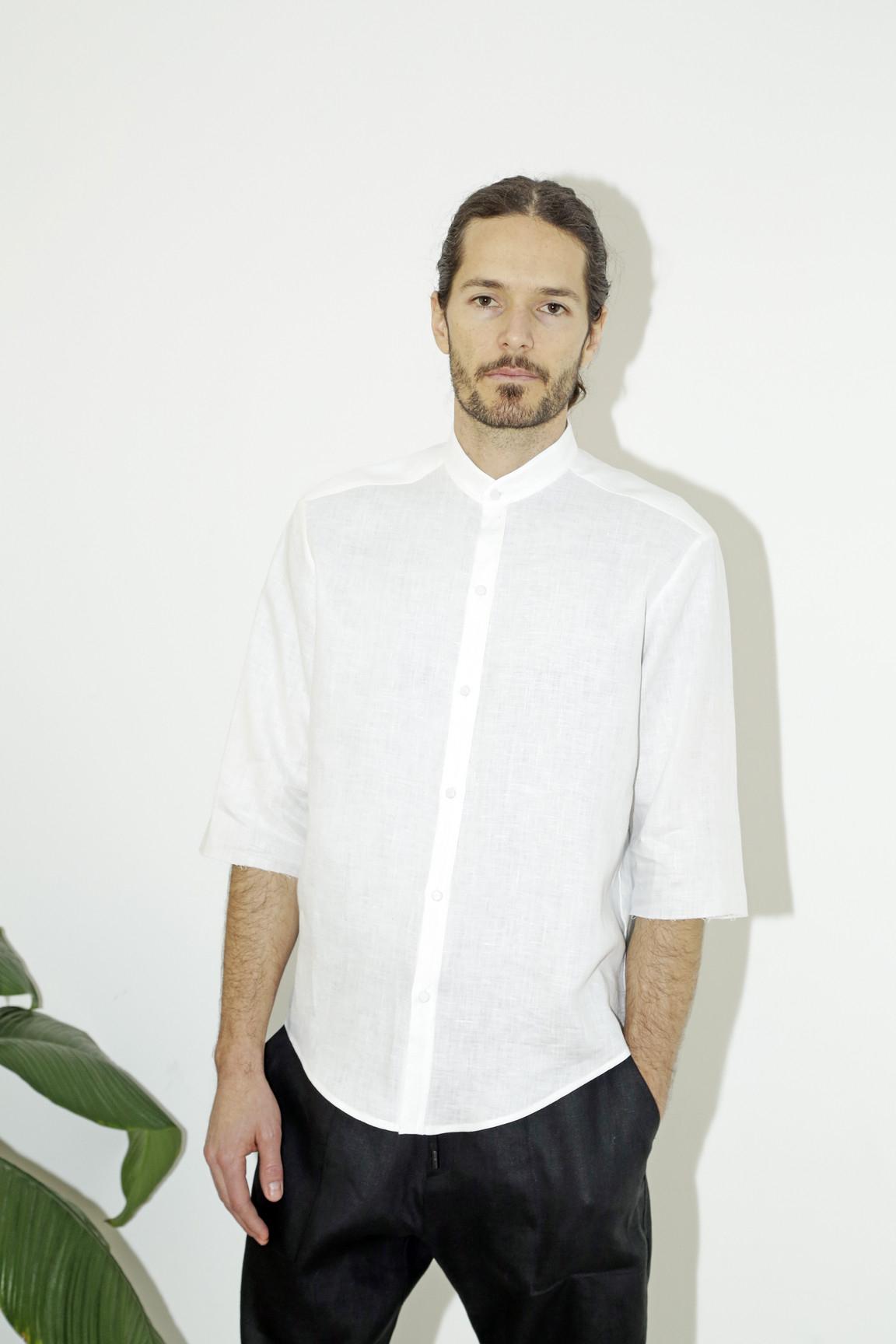 mens Long Sleeve Poplin shirt * Two Flap Bttn Pockets * Roper