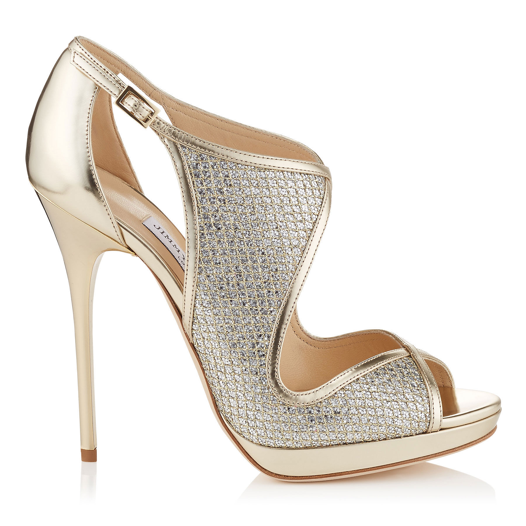 Champagne Patent Leather Shoes