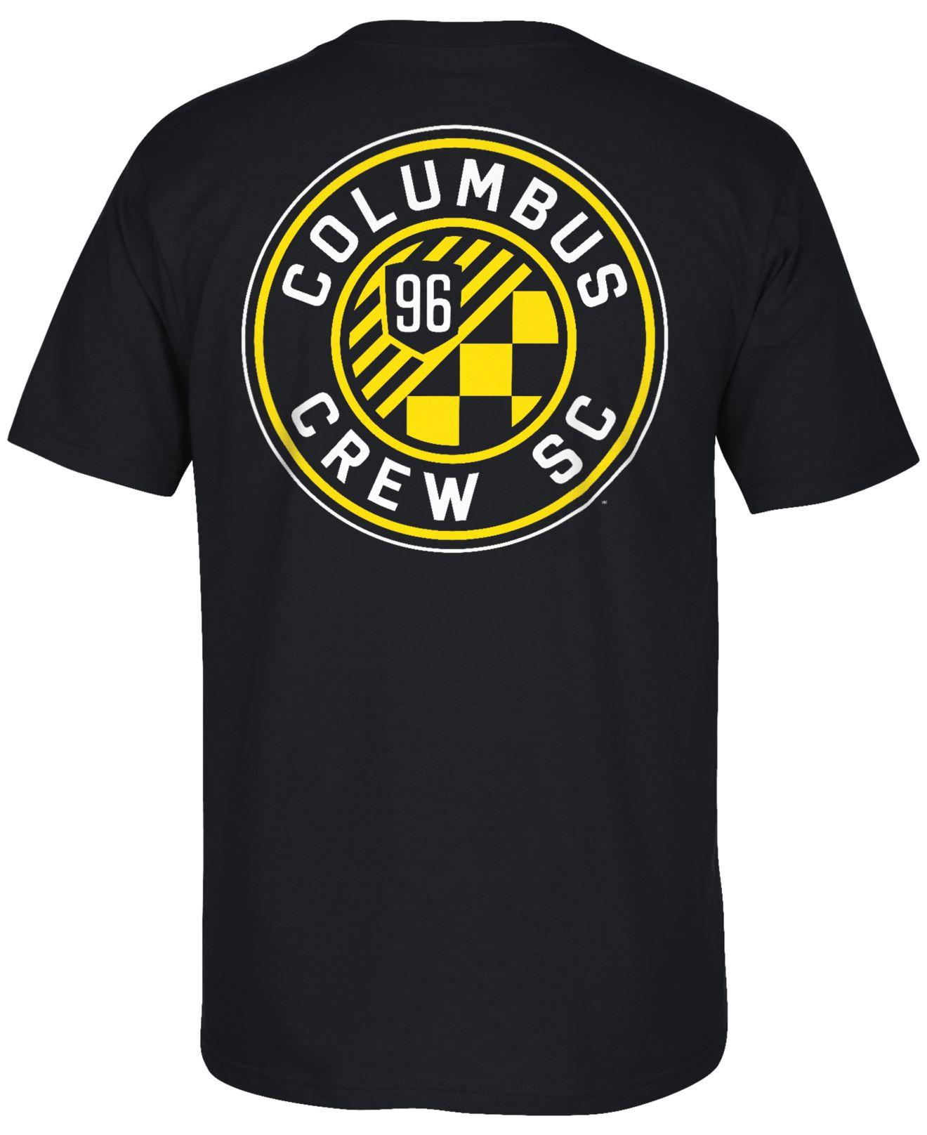 Adidas originals men 39 s columbus crew primary one t shirt for Columbus ohio t shirt printing