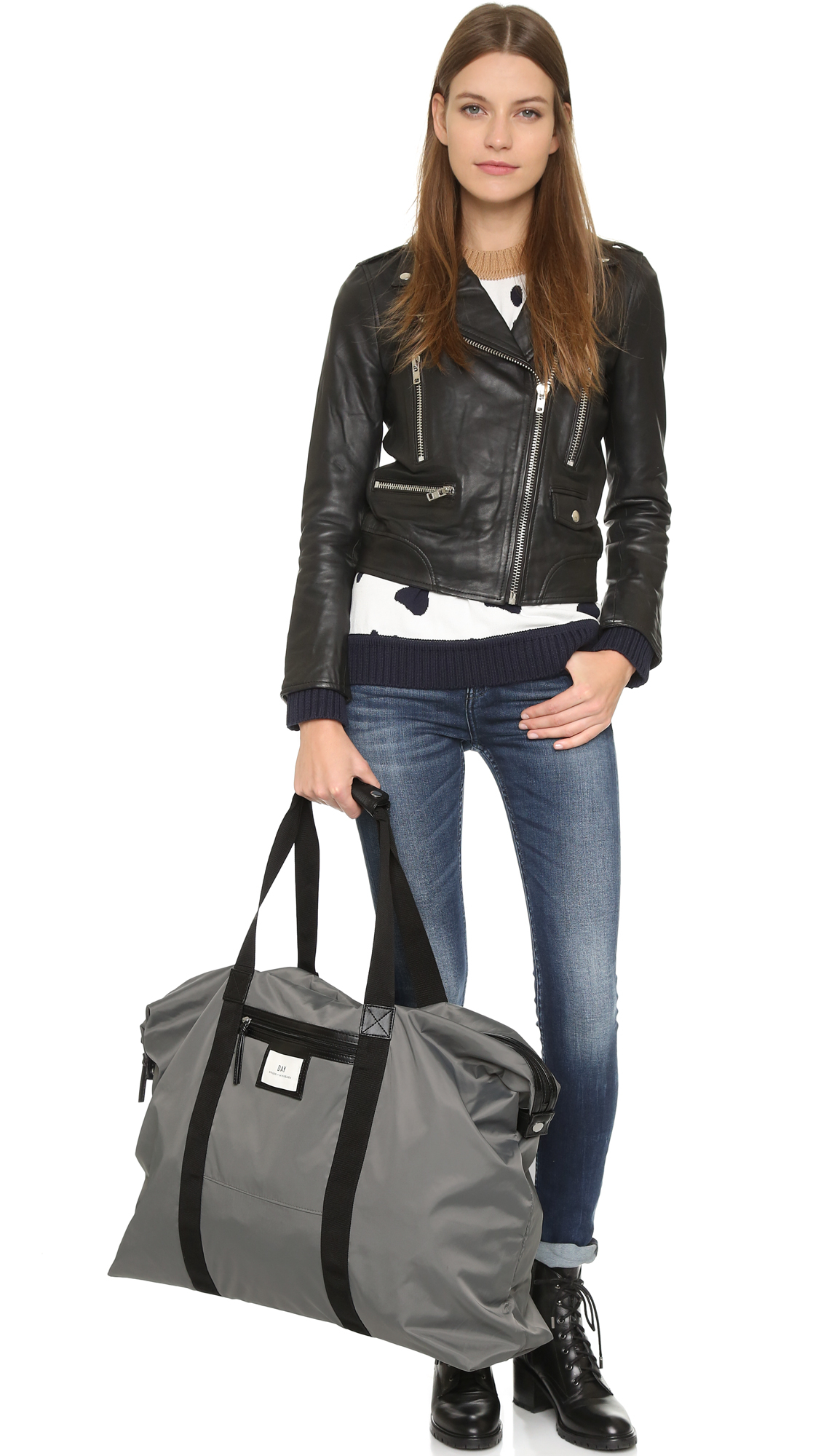 21cc1c34421b1 Lyst - Day Birger et Mikkelsen Day Gweneth Weekend Bag - Kohl in Gray