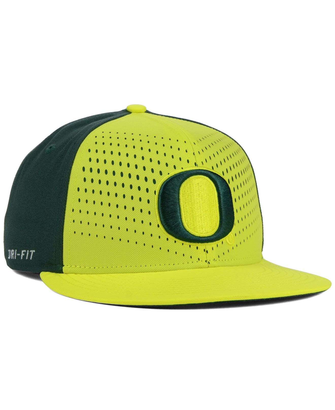 new style 082dc 29790 ... top quality lyst nike oregon ducks true seasonal snapback cap in yellow  for men 9fdc6 7c37f