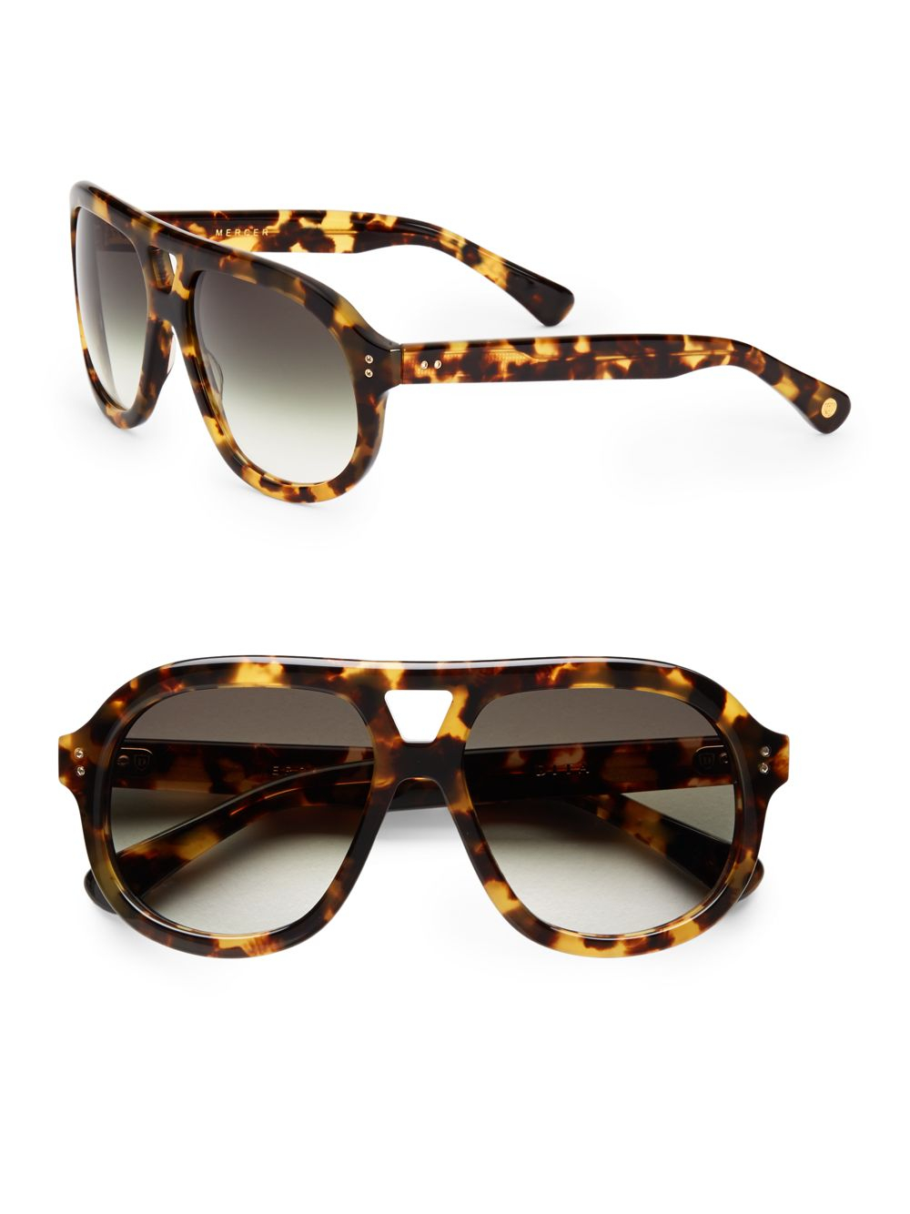 e6aa53a959 Topman Tortoise Aviator Sunglasses