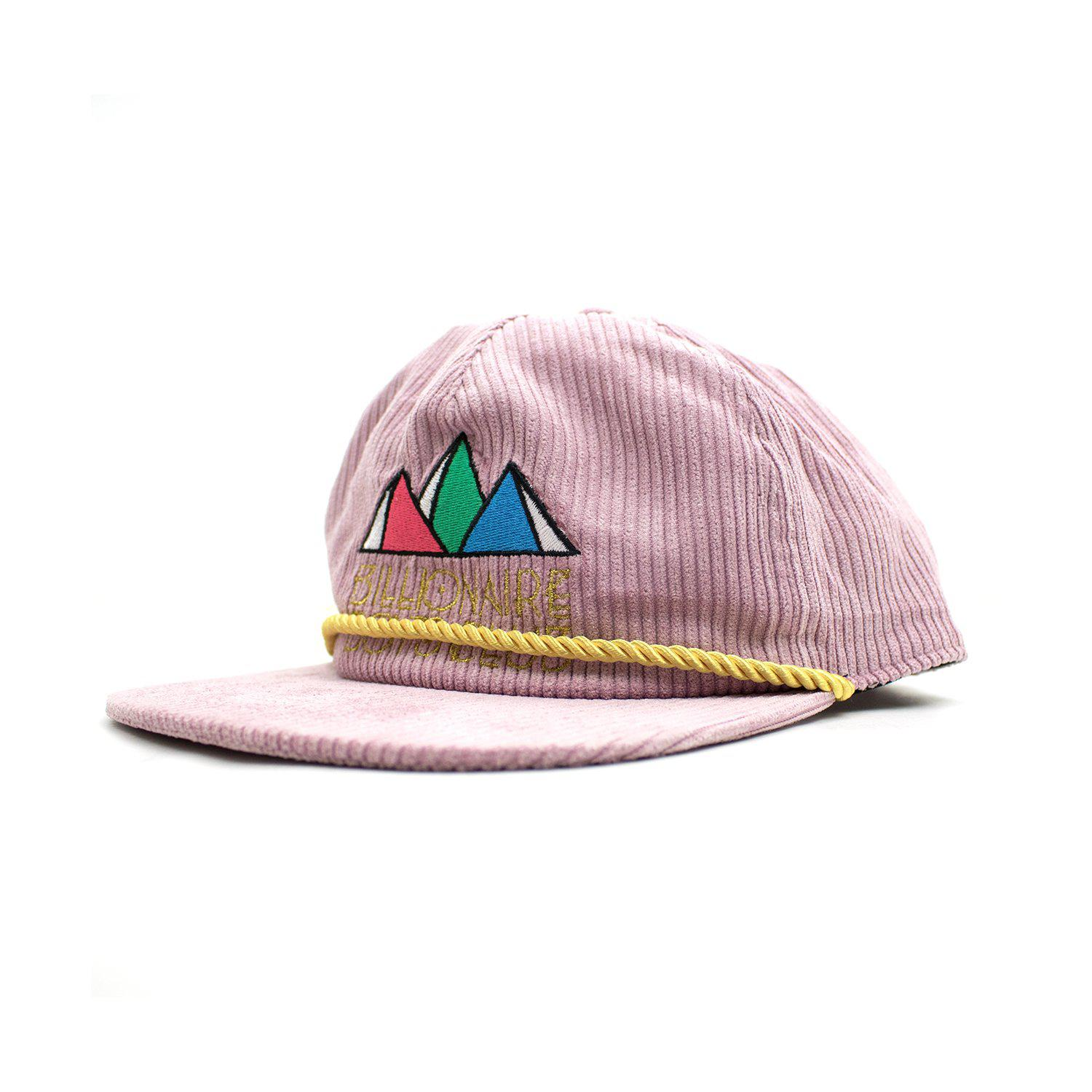 BBCICECREAM Pyramid Snapback in Pink for Men - Lyst e98062bf5d6