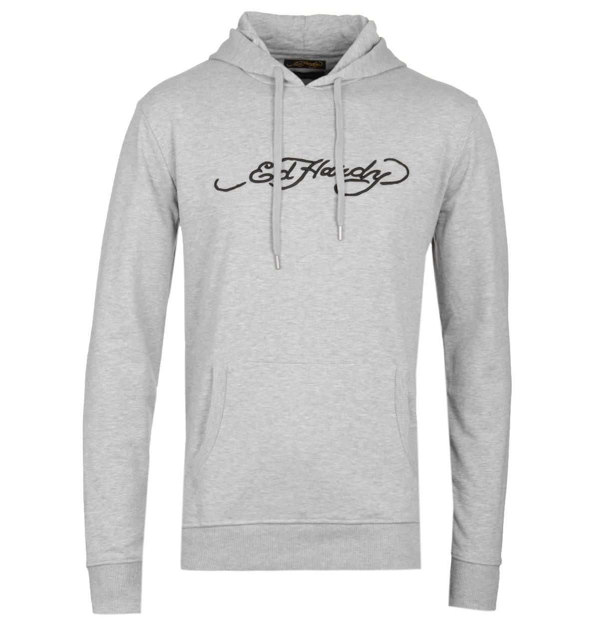 612fe8727 Lyst - Ed Hardy Roar Japan Grey Crew Sweatshirt in Gray for Men