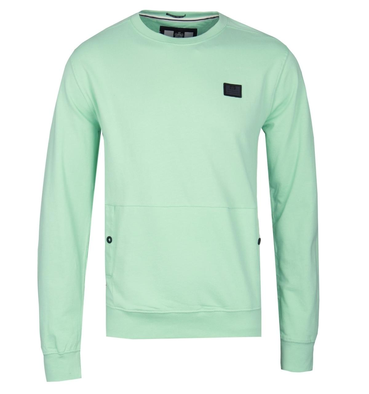 a59539bff70ef8 Weekend Offender Mint Green Paloma Sweatshirt in Green for Men - Lyst