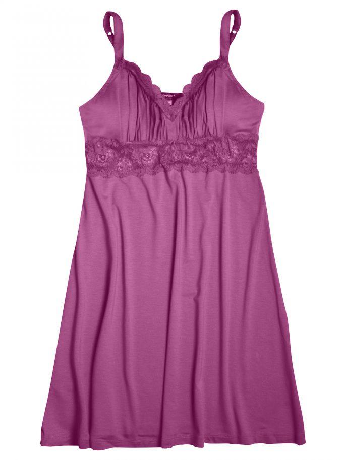 Cosabella Talco Lace Chemise Dress in Purple (PERSIAN ...