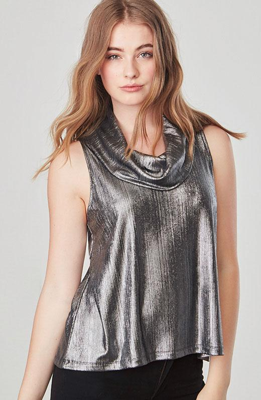 5cd9ede8f12a2f Gallery. Previously sold at  BB Dakota · Women s Off Shoulder Ruffle Tops  ...
