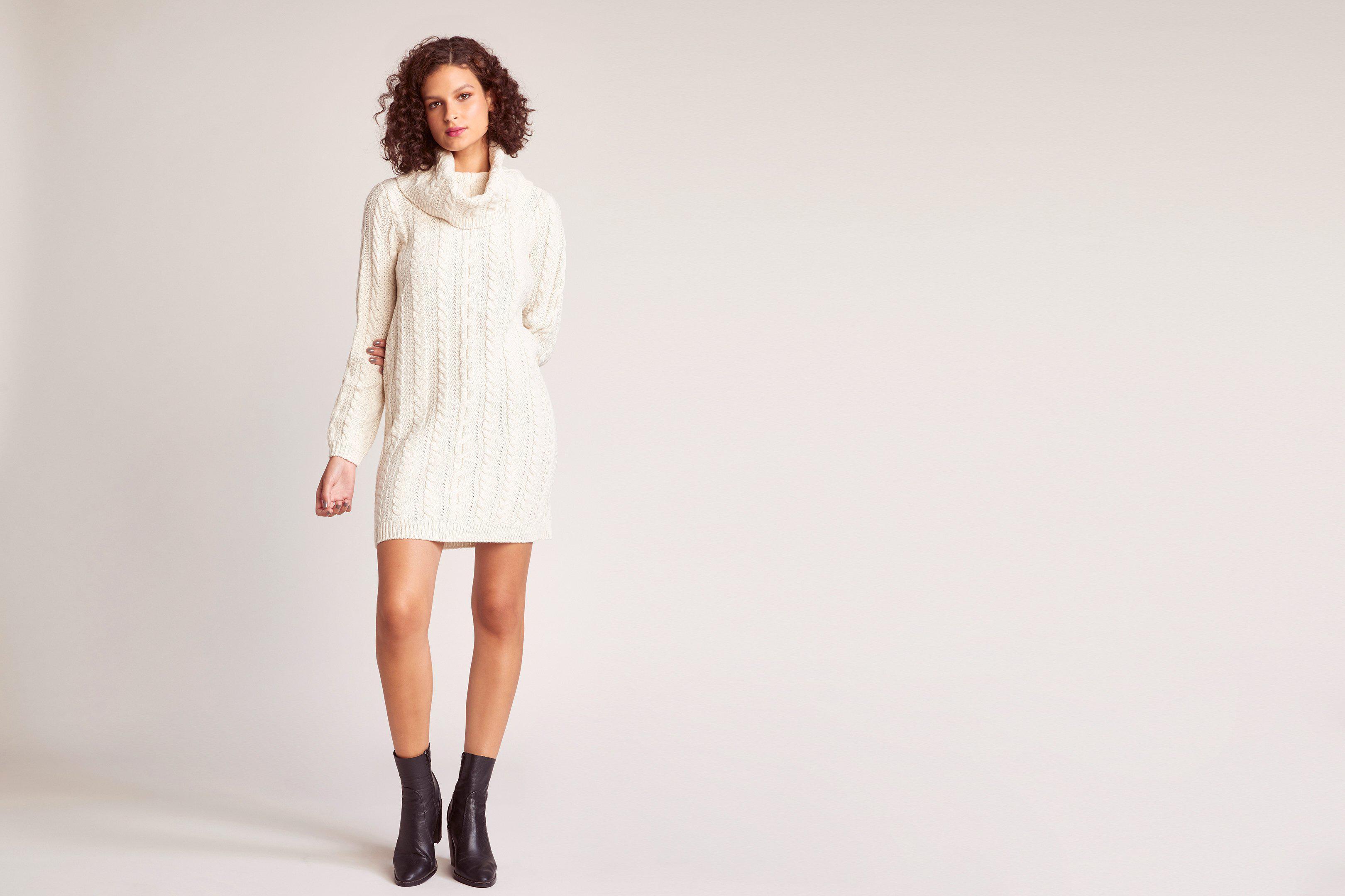 9ec9412a57c Lyst - BB Dakota Alaska Sweater Dress