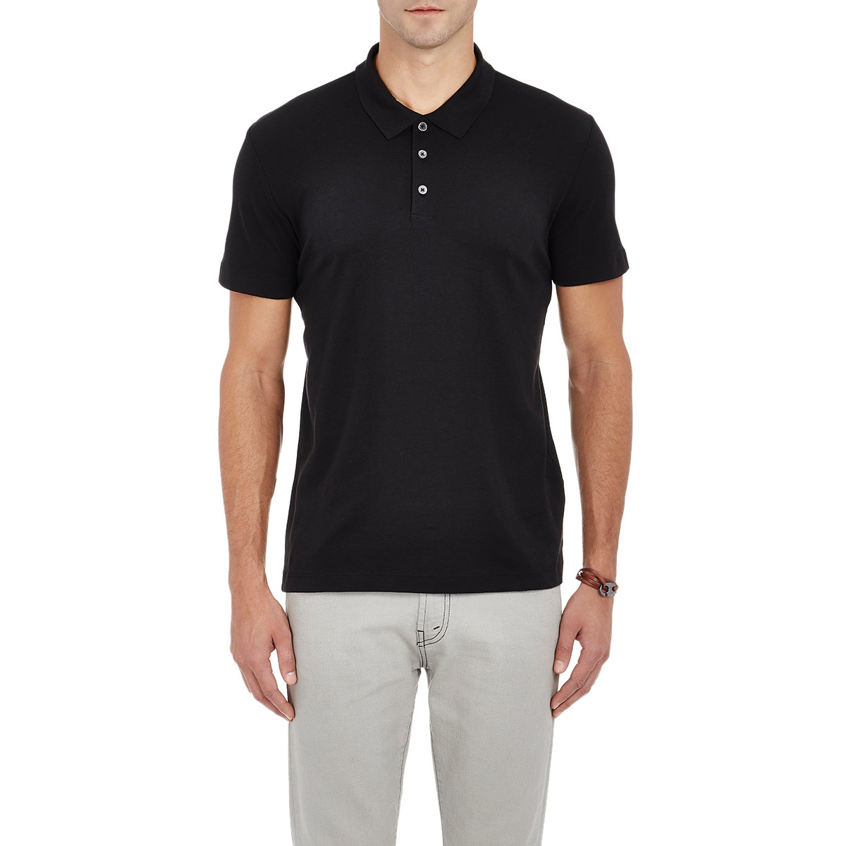 theory men 39 s boyd polo shirt in black for men lyst