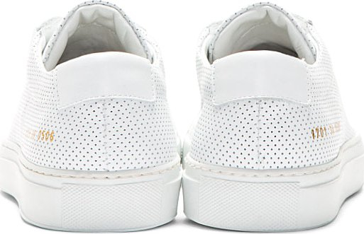 Original Achilles perforated sneakers - White Common Projects XQRfe90xn