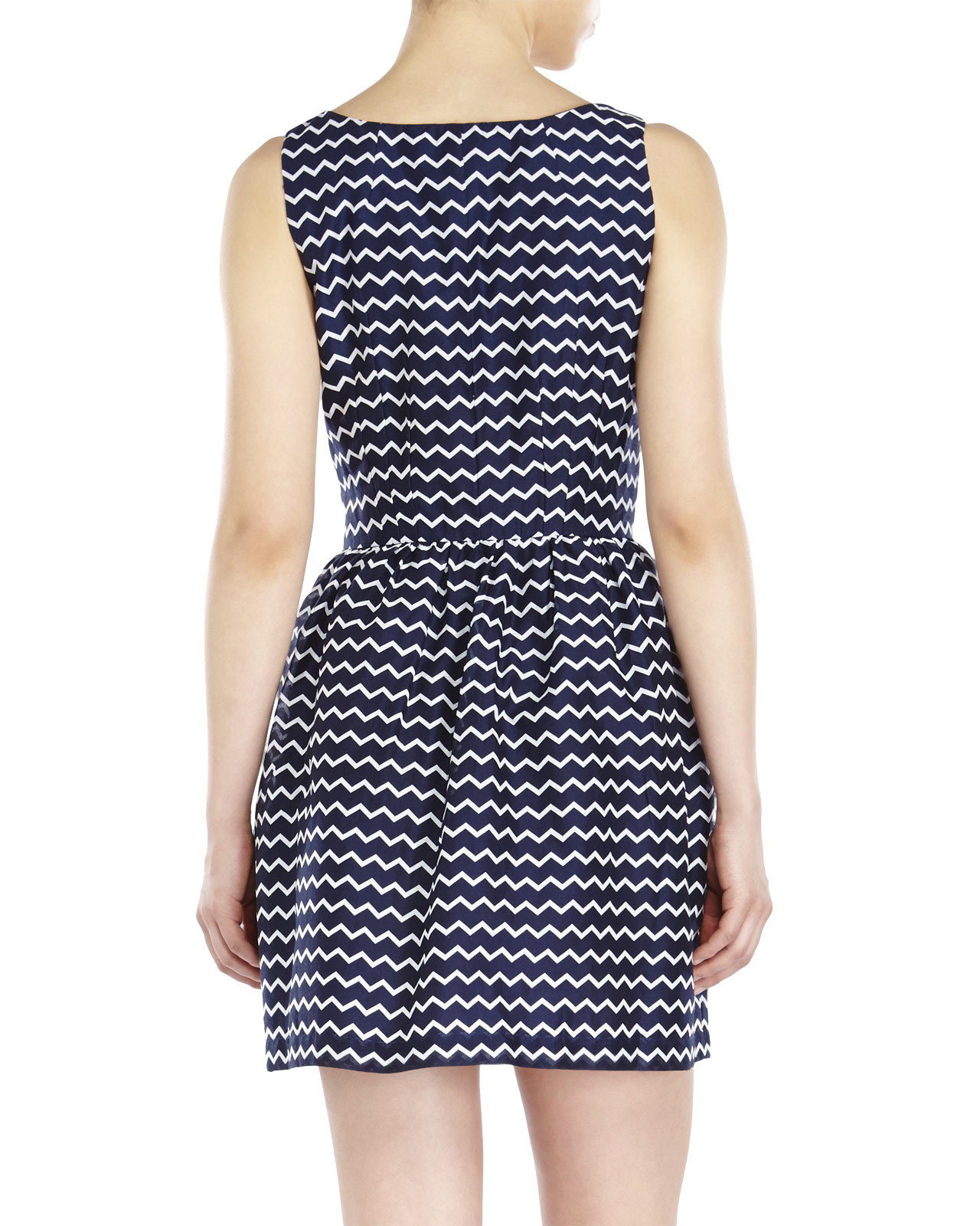 Lyst French Connection Sunspark Tunic Dress In Blue