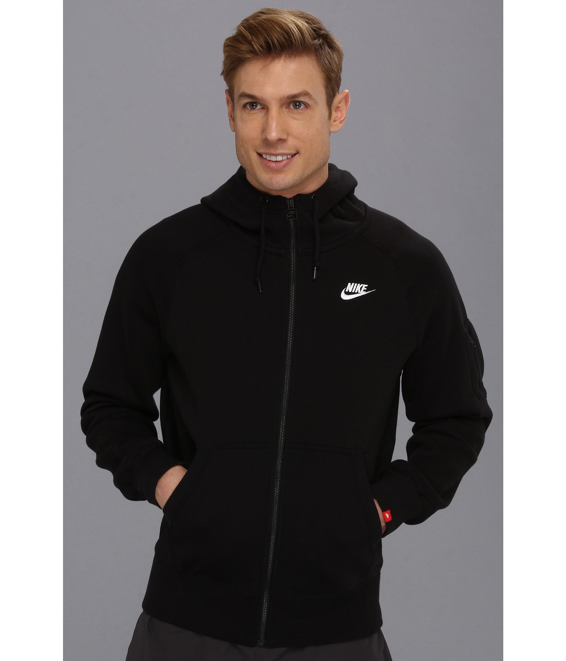 fcae3e7204 Nike Aw77 Fleece Crew Mens Sweatshirt