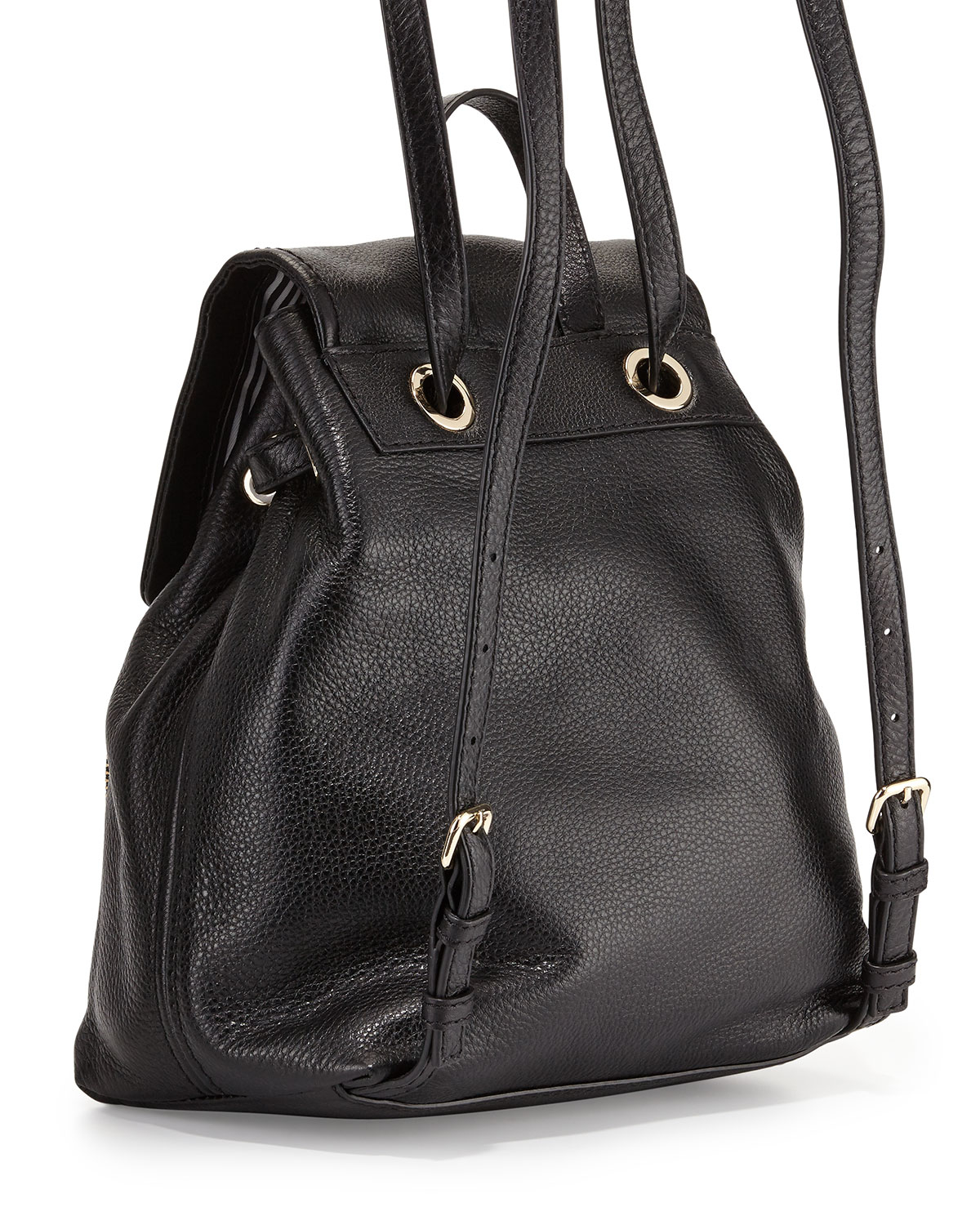 150bf6c62aa6f Lyst - Kate Spade Cobble Hill Charley Leather Backpack in Black