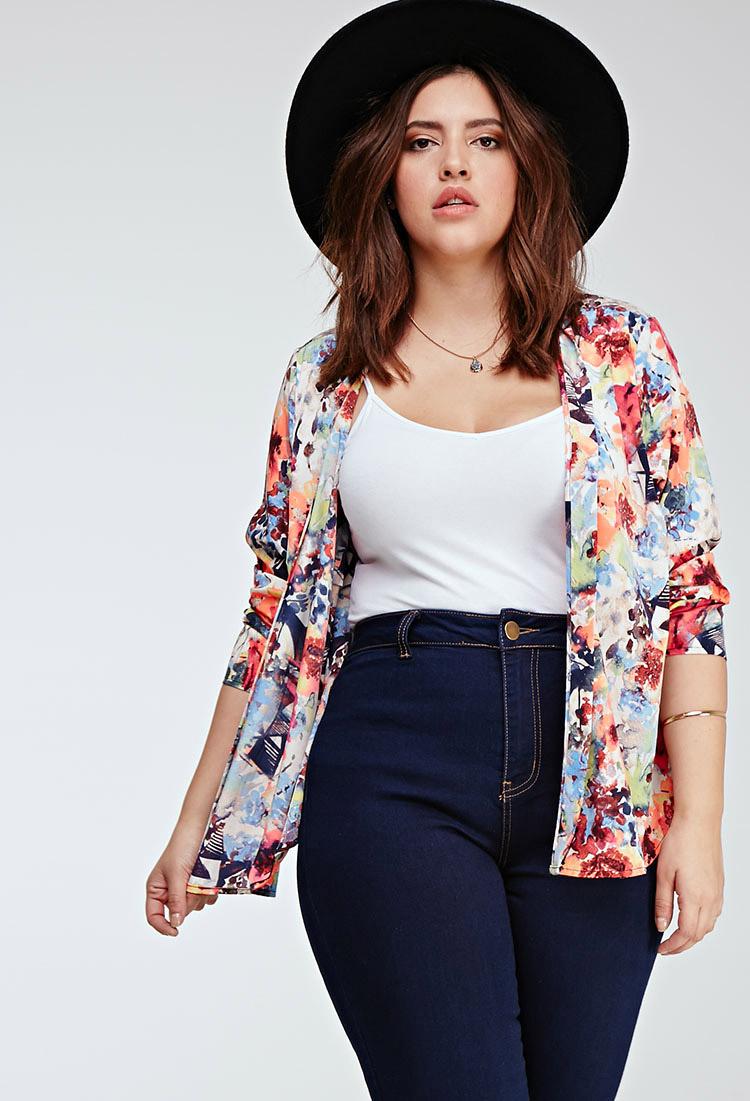 Resultado de imagen para high waisted jeans outfit plus size