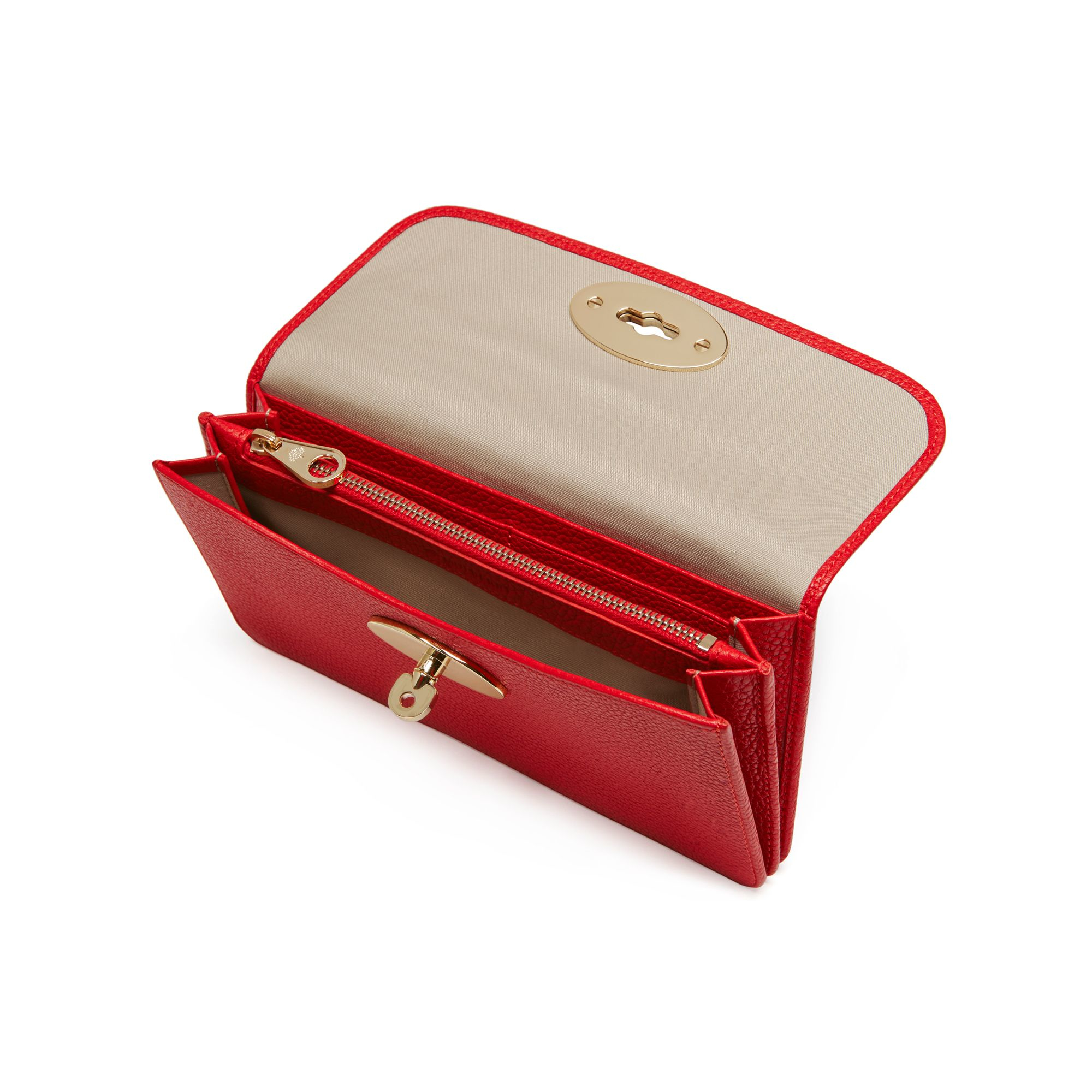1824c061740 ... coupon mulberry long locked purse in red lyst fc372 4a522