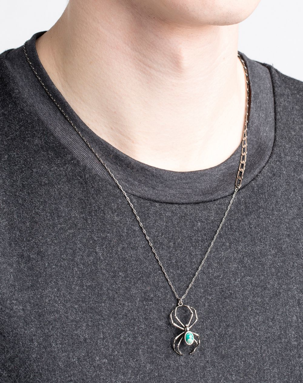 Lanvin Necklace in Metallic for Men