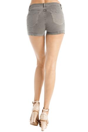 J Brand Armadillo J brand Nina Zip Short...