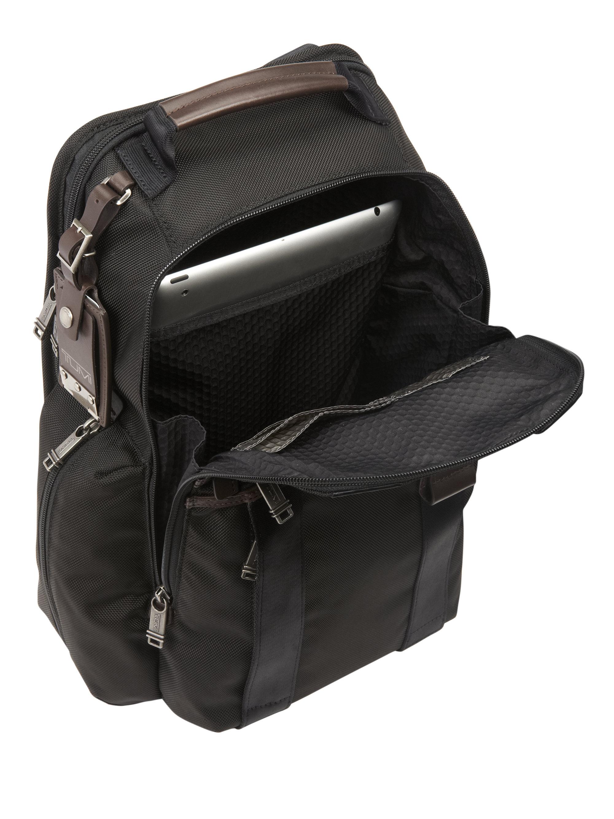 Lyst Tumi Bravo Greely Sling Backpack In Black For Men