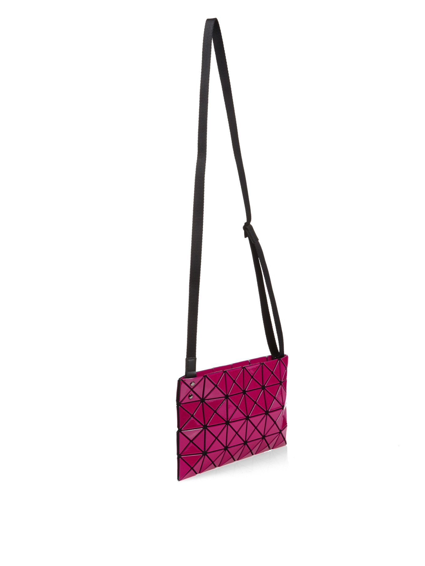 ... Bao Bao Issey Miyake Lucent Cross-body Bag in Pink - Lyst competitive  price cb92b ... 48c1e60ac630b