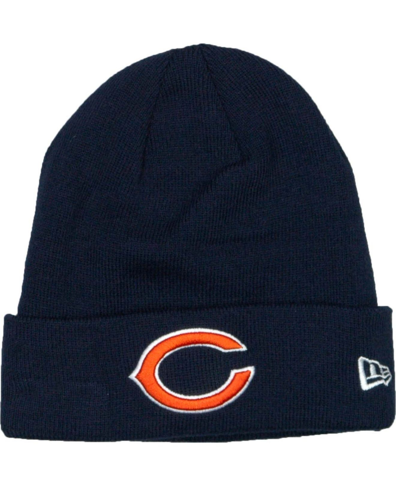 ktz chicago bears basic cuff knit hat in blue for men lyst. Black Bedroom Furniture Sets. Home Design Ideas