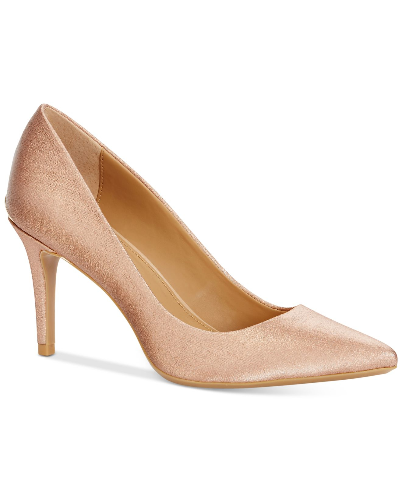 Gayle Textile Pointed-Toe Pumps QhE5ugv