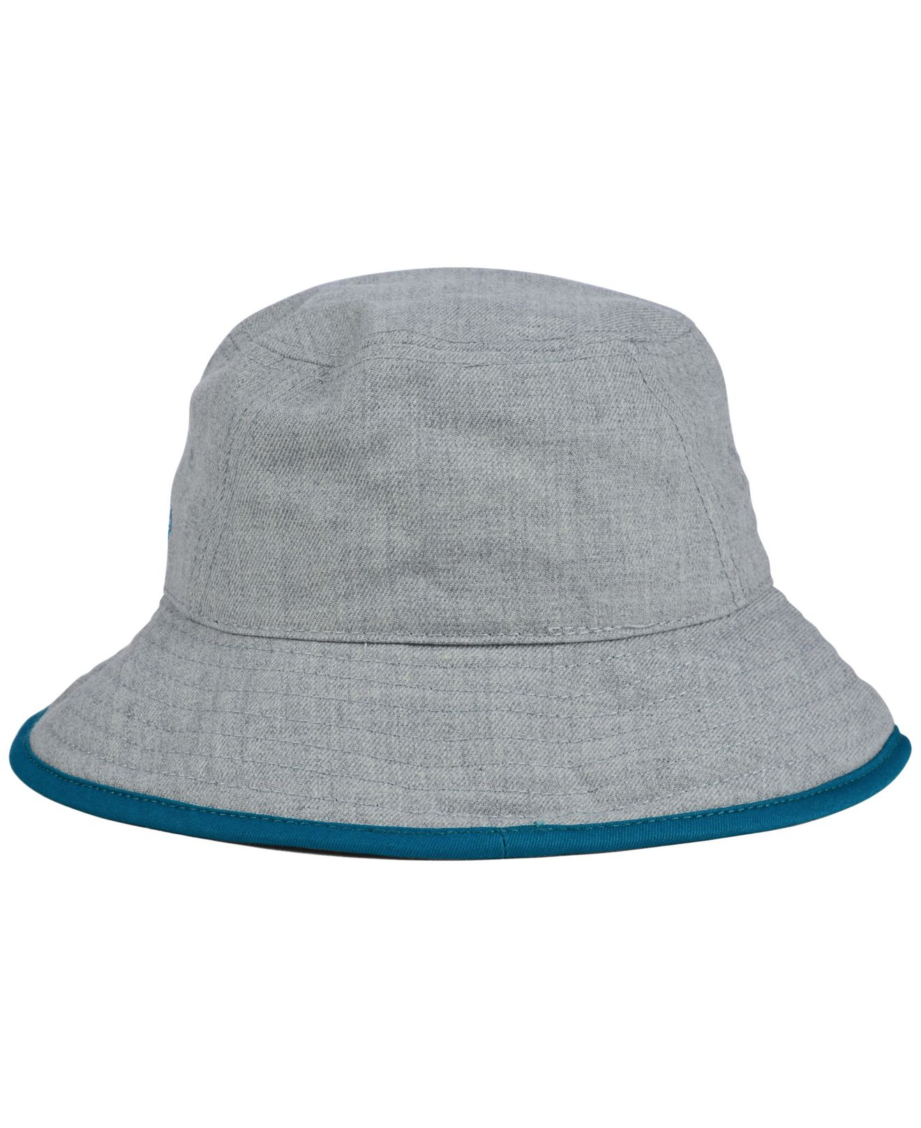 65b8625a44a Lyst - KTZ Jacksonville Jaguars Nfl Heather Gray Bucket Hat in Gray
