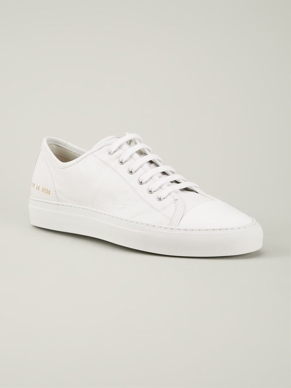 Cheap Inexpensive Clearance Best Wholesale lace-up sneakers - White Common Projects Free Shipping Visa Payment Free Shipping Amazing Price b37Jo