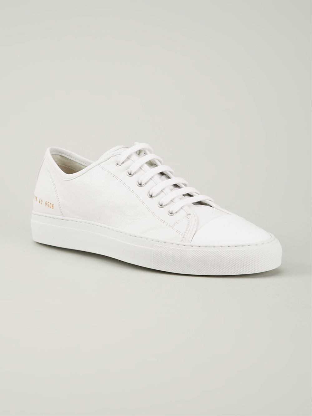 Projets Communs Lacent Chaussures De Sport - Blanc L32M5kU