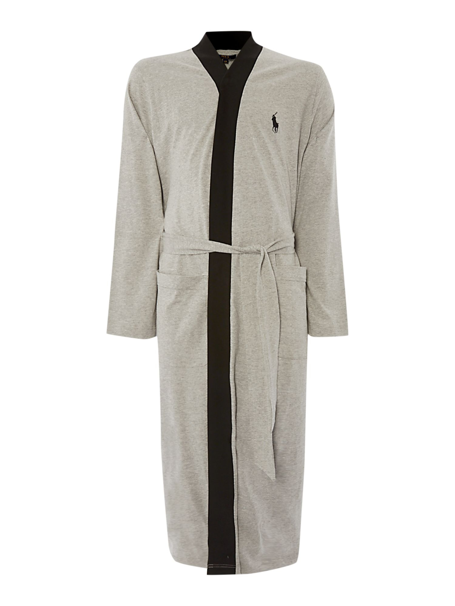 polo ralph lauren gray kimono robe for men lyst. Black Bedroom Furniture Sets. Home Design Ideas