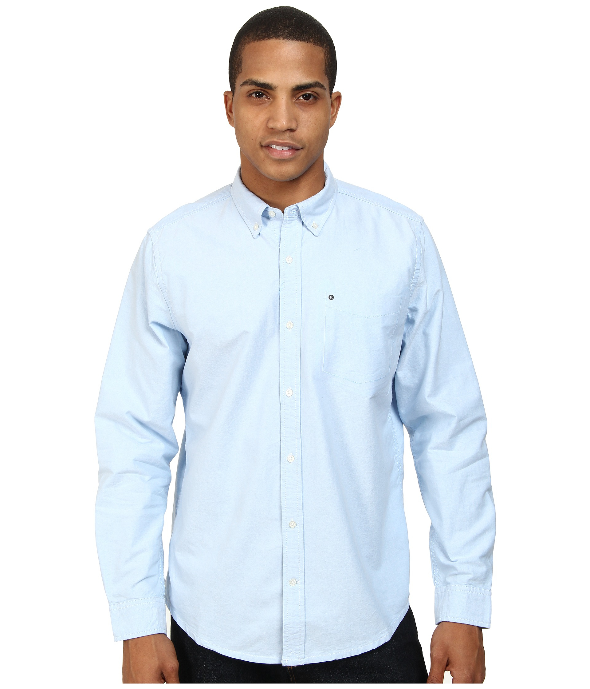 Lyst Hurley Ace Oxford 20 Ls Top In Blue For Men