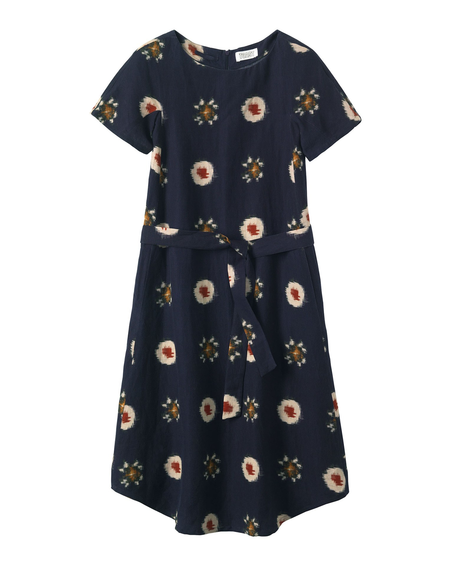 Toast floral woven ikat dress lyst for Ikat fabric dress