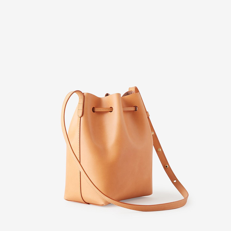 mansur gavriel mini bucket bag in orange cammello antico. Black Bedroom Furniture Sets. Home Design Ideas
