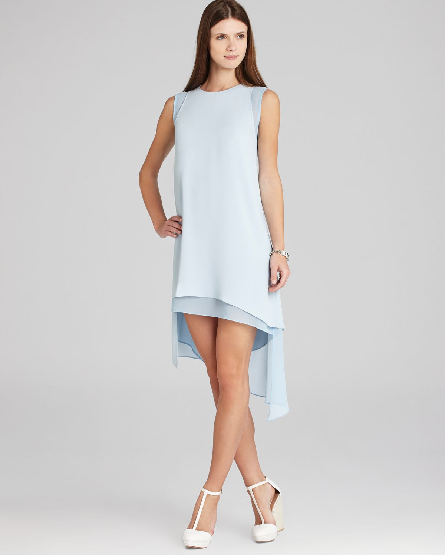 Lyst - Bcbgmaxazria Bcbg Max Azria Dress Lainey Asymmetric ...