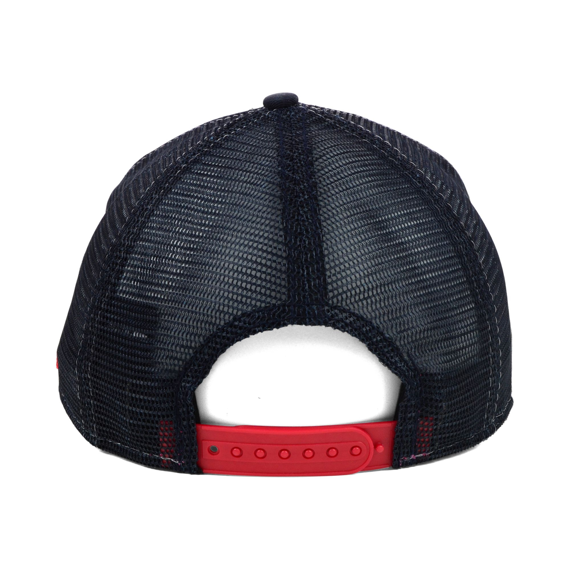 new product 7cd43 42c0e ... ebay lyst ktz cleveland indians mlb 18 wheeler 9forty cap in red for men  dc083 1330e