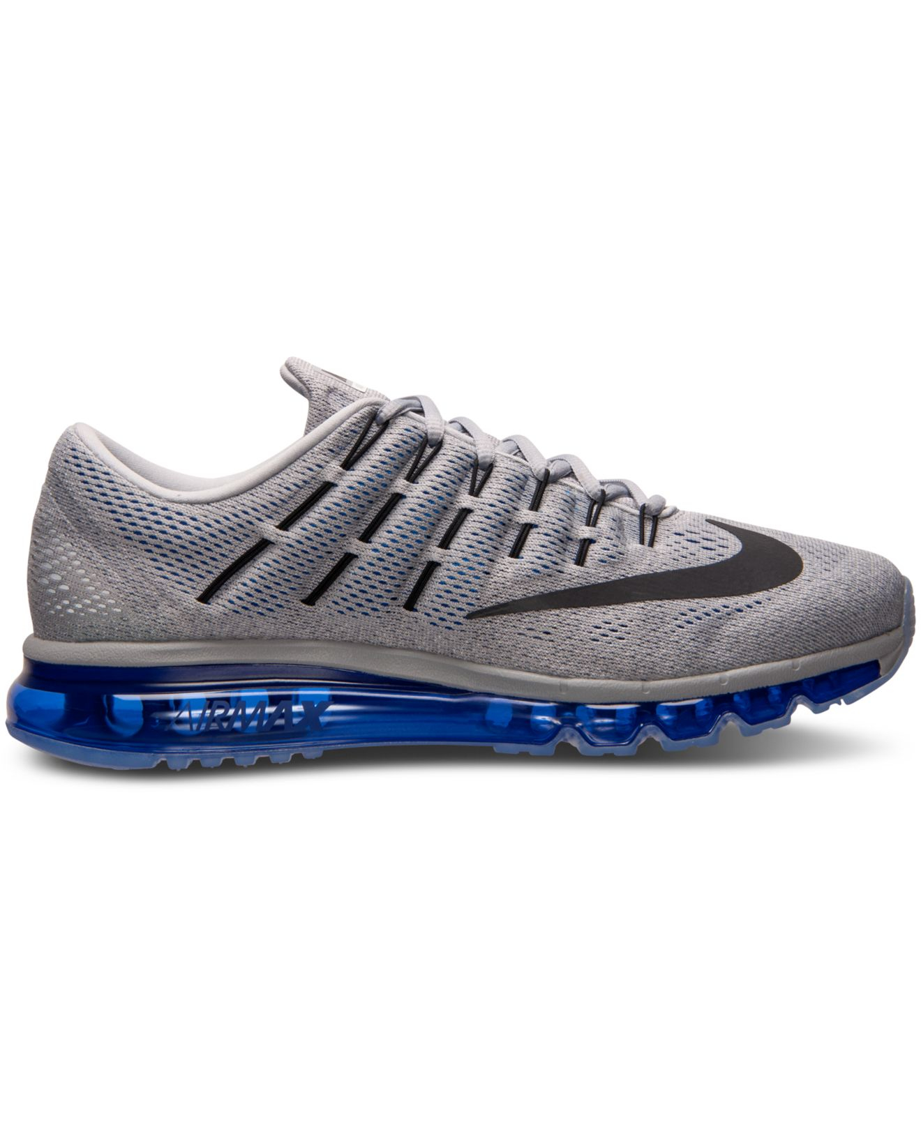 huge discount e5572 1d89f ... Lyst - Nike Men s Air Max 2016 Running Sneakers From Finish Line in .