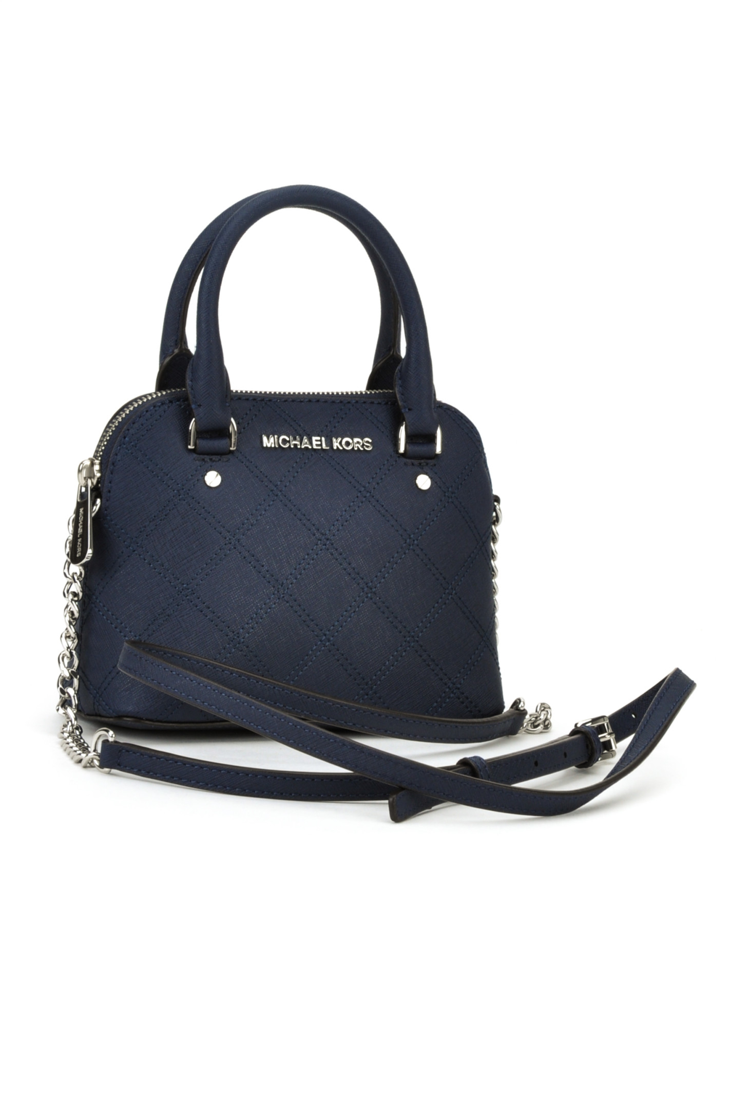 Michael Michael Kors Borsa Cindy Small Crossbody In Blue