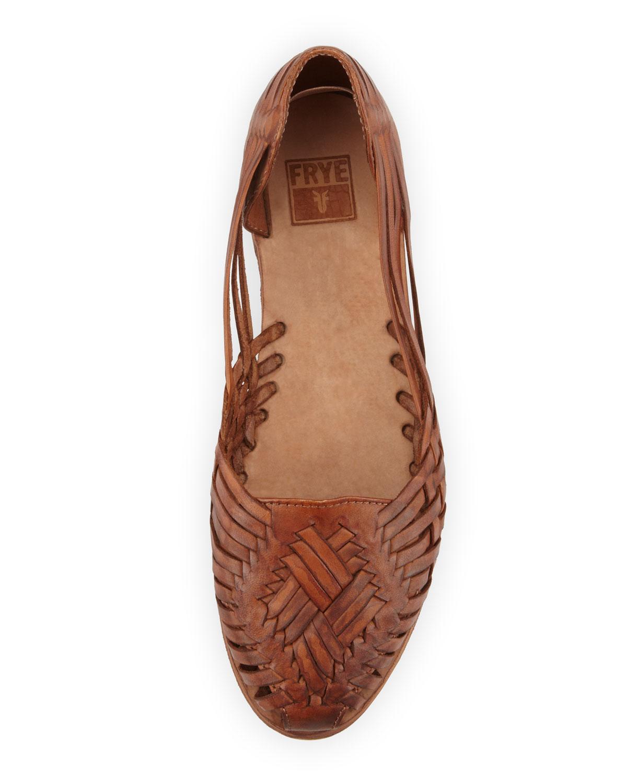 Lyst Frye Heather Huarache Sandal Cognac In Brown