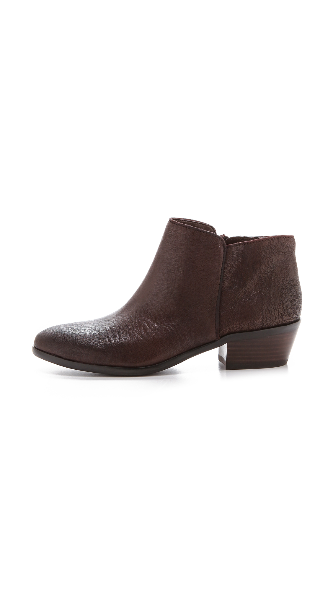 Sam Edelman Ankle Booties Petty In Brown Lyst