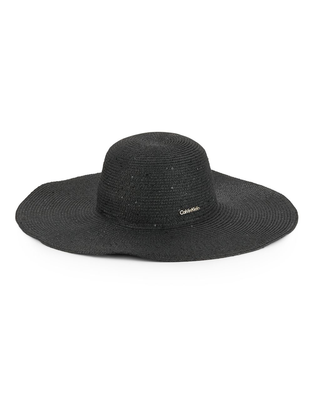 d131c767 Calvin Klein Sequined Sun Hat in Black - Lyst