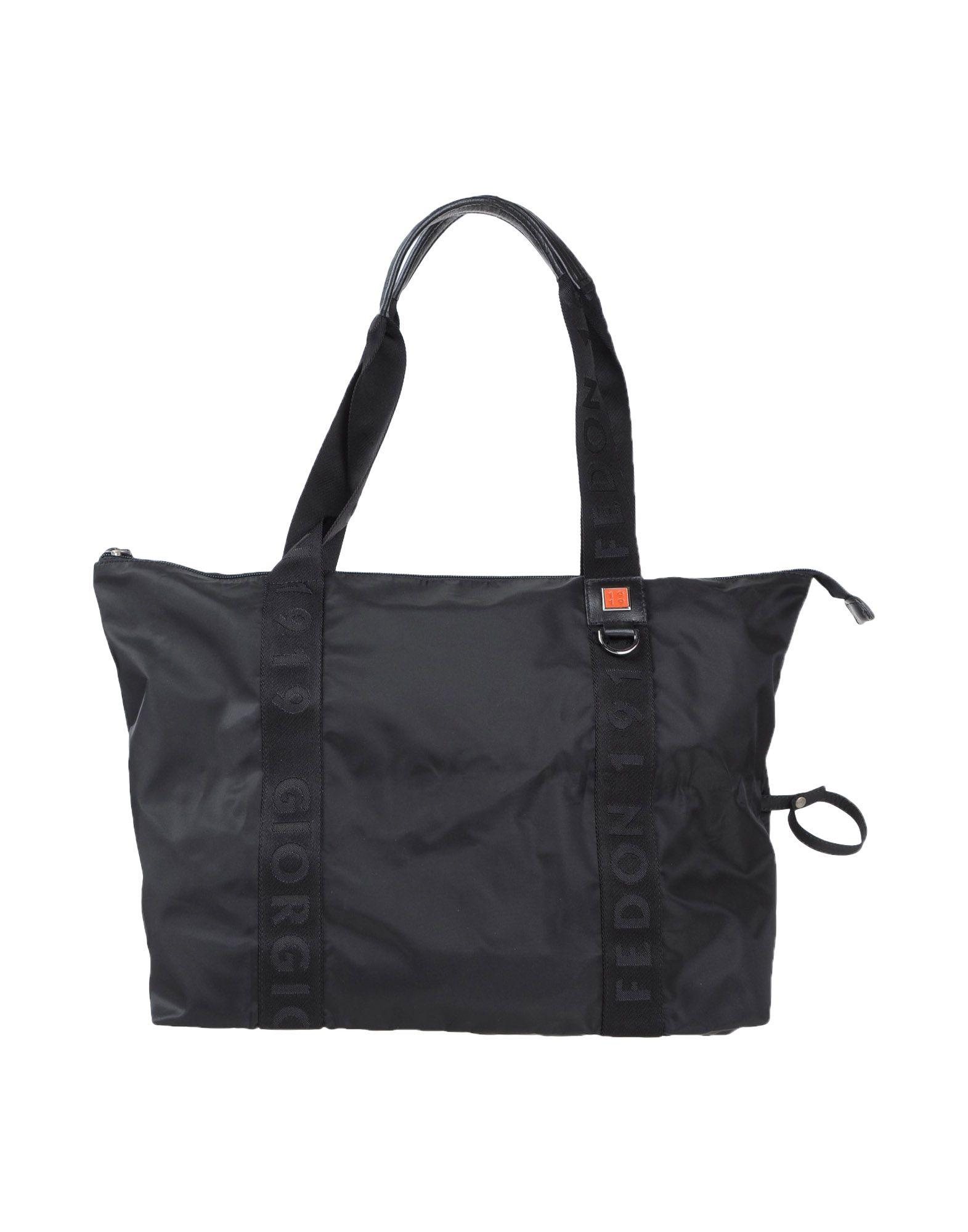 Giorgio fedon Handbag in Black