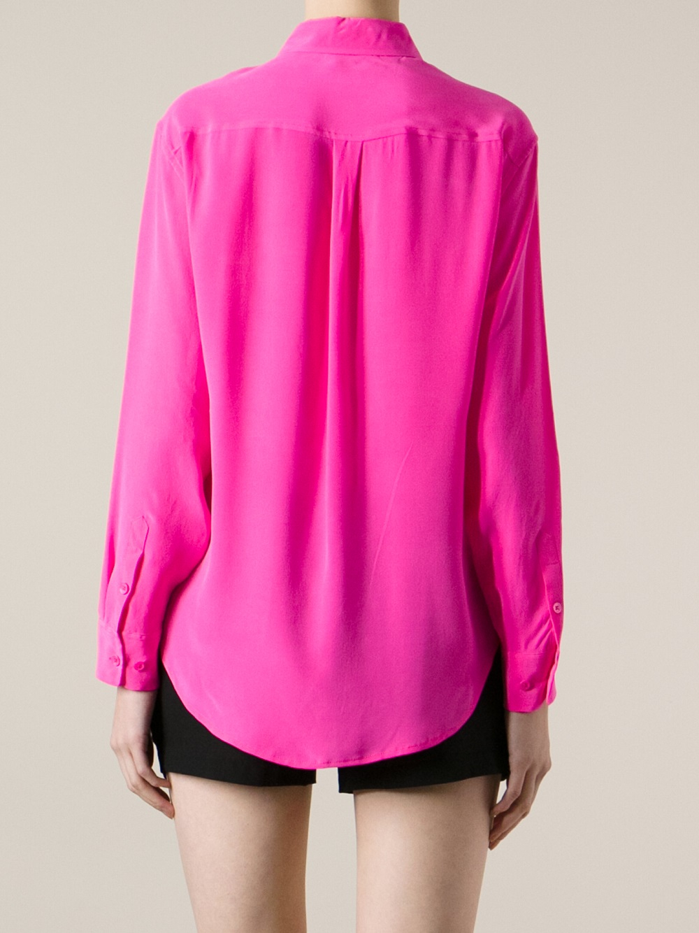 Equipment Button Down Shirt In Pink Lyst