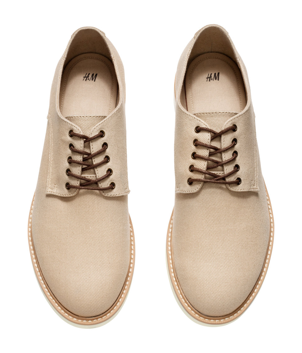 Suede Mens Derby Shoes