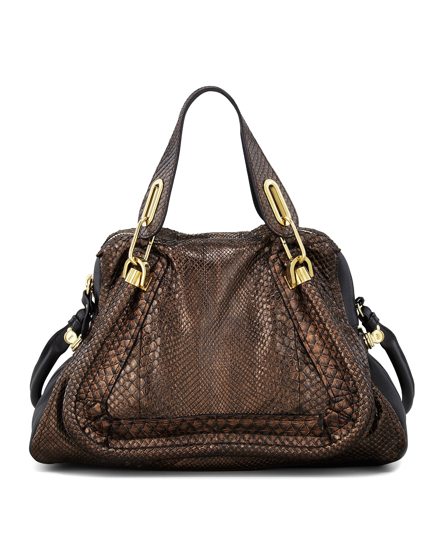 red chloe handbag - chloe metallic python shoulder bag, replica chloe handbags