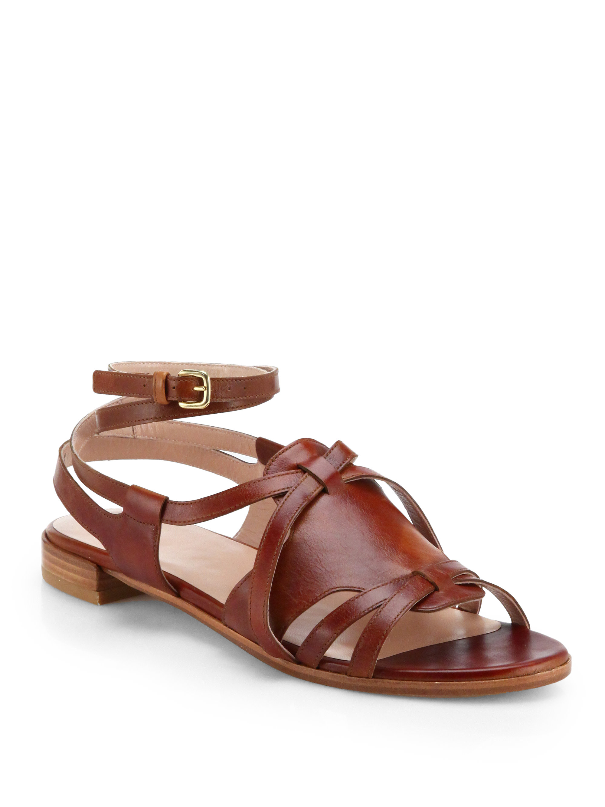 Stuart Weitzman Leather Sandals Inexpensive For Sale Best Prices Cheap Price 9bqtZiS9TS