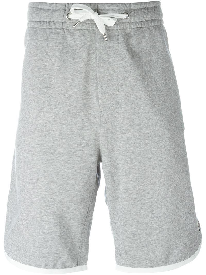 moncler white shorts